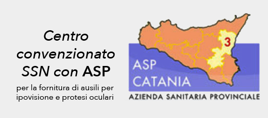 Optometria Giorgini è un centro convenzionato SSN con ASP